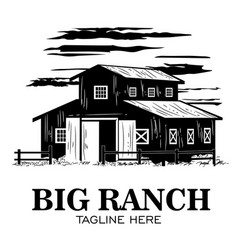 Ranch logo design vector