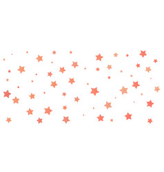 stars red background vector image