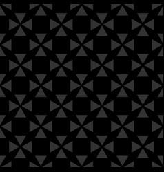 Tile black background or seamless dark pattern vector