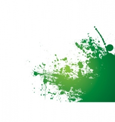 grunge splat background vector image vector image