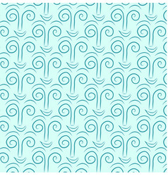 abstract pattern blue vector image vector image