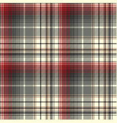 abstract tartan seamless pattern vector image