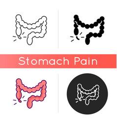 Appendicitis icon vector