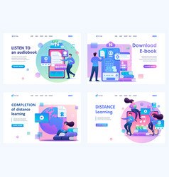 Set 2d flat concepts distance learning vector