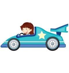 girl driving a car vector image vector image