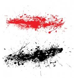 grunge strand vector image vector image