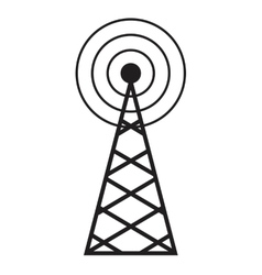 cellular braodcasting antenna service vector image