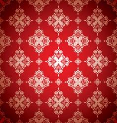 floral wallpaer vector image
