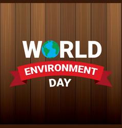 5 june celebration world environment day vector