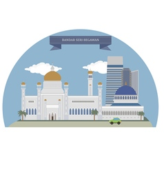 Bandar Seri Begawan vector