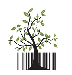 Barcode tree vector