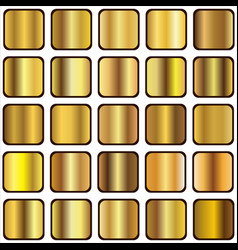 golden gradient vector image