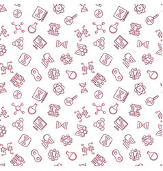 Human cloning outline seamless pattern vector