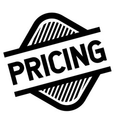 Pricing stamp on white vector