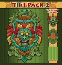 Tiki pack 2 vector