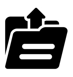 Upload folder vector