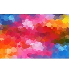 Bright Colored Mosaic Abstract Background vector image
