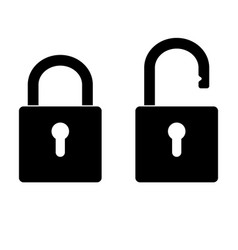 safety lock icon image royalty free vector image rh vectorstock com padlock vector png padlock vector image