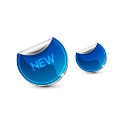 new sticker vector image vector image