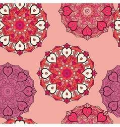 Seamless pattern in eastern style Print with vector image vector image