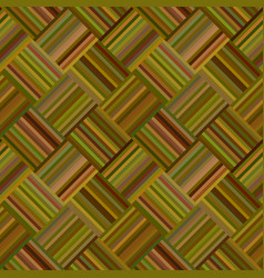 abstract diagonal striped square mosaic pattern vector image