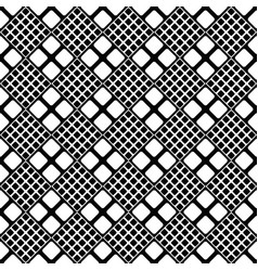 abstract geometrical black and white square vector image