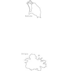 Antigua, Barbuda & Map Vector Images (92)