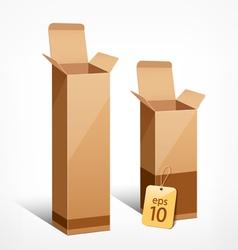 Boxes liquor vector