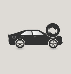 car check icon vector image