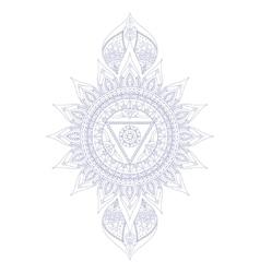 Chakra Vishuddha vector