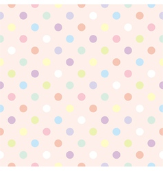 Colorful dots retro vector