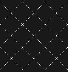 Diagonal mesh geometric seamless pattern vector