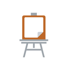 education board icon - school chalk board - draw vector image