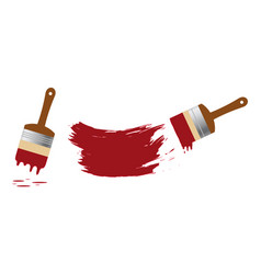 paint set vector image