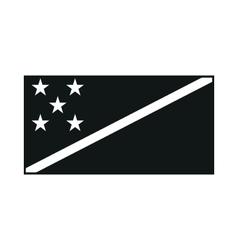 Solomon Islands Flag Icon Created For Web vector