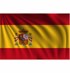 Waving spain vector