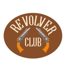 logo shooting club vector image vector image