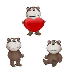 bears vector image