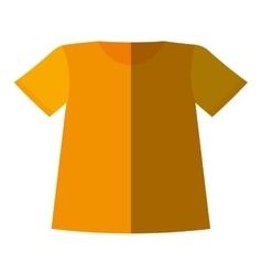 t-shirt uniform team icon vector image