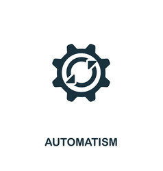Automatism icon from personal productivity vector