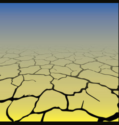 Gradient cracks background vector