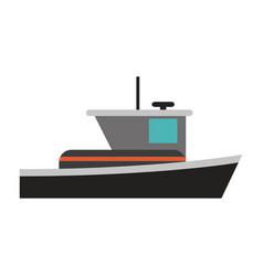 Motor boat icon image vector