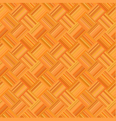 orange abstract seamless diagonal striped mosaic vector image