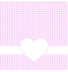 Valentine day invitation card vector