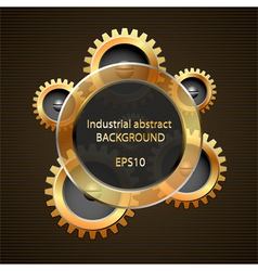 Industrial abstract background vector image vector image