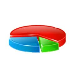round diagram vector image