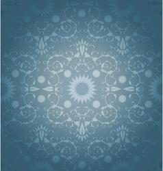 Baroque geometric background vector image vector image