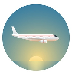 Airliner Detailed vector image