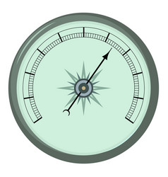 atmosphere barometer icon cartoon style vector image