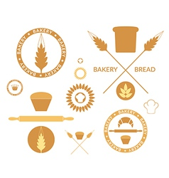 Bakery Bread Wheat vector image